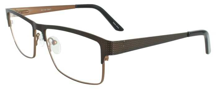 Prescription Glasses Model DC130-BROWN-45