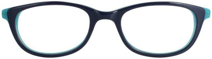 Prescription Glasses Model DC131-BLUE-FRONT