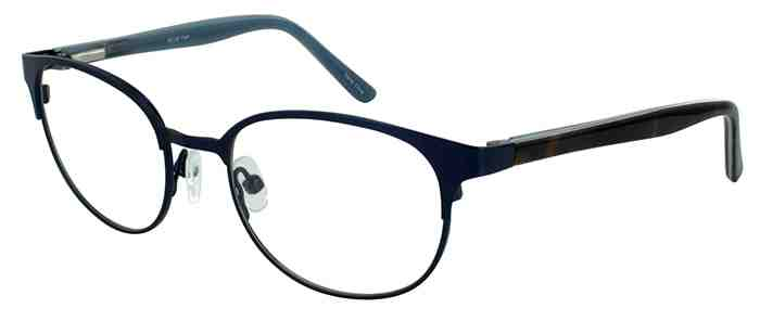 Prescription Glasses Model DC132-BLUE-45