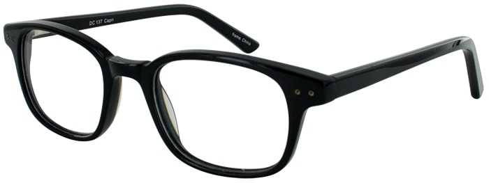 Prescription Glasses Model DC137-BLACK-45