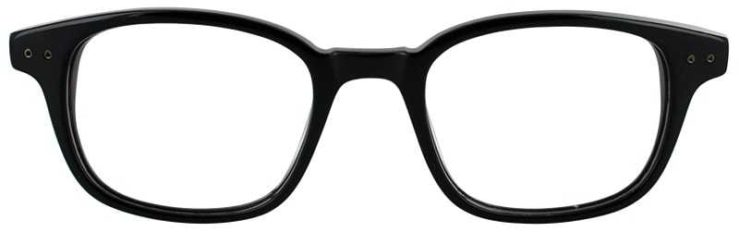 Prescription Glasses Model DC137-BLACK-FRONT