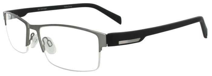 Prescription Glasses Model DC139-GUNMENTAL-45
