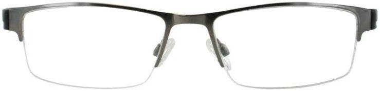 Prescription Glasses Model DC139-GUNMENTAL-FRONT