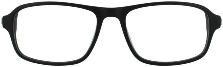Prescription Glasses Model DC144-BLACK-FRONT