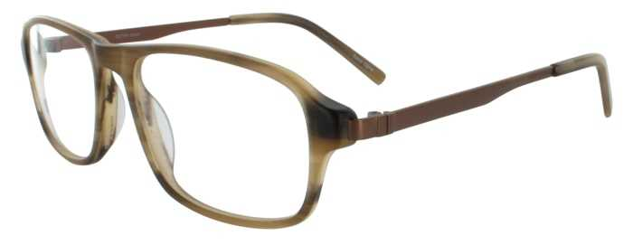 Prescription Glasses Model DC144-BROWN-45