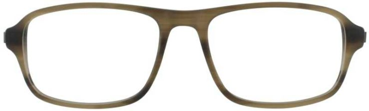 Prescription Glasses Model DC144-BROWN-FRONT