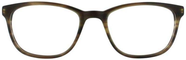 Prescription Glasses Model DC146-BROWN-FRONT