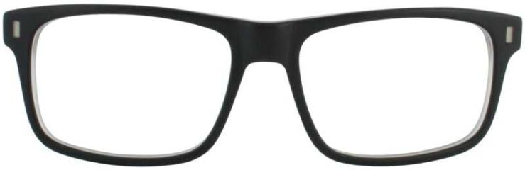 Prescription Glasses Model DC147-BLACK-FRONT