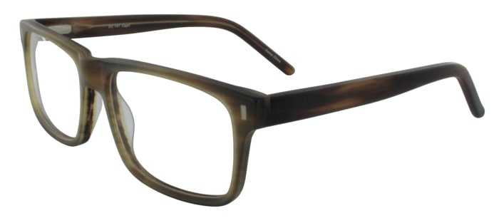 Prescription Glasses Model DC147-BROWN-45