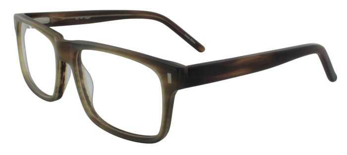Prescription Glasses Model DC147-BROWN-45