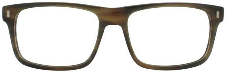 Prescription Glasses Model DC147-BROWN-FRONT