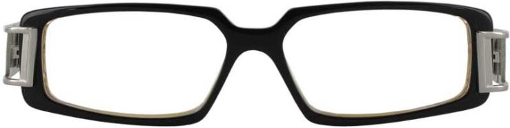 Prescription Glasses Model DC28-BLACK-FRONT