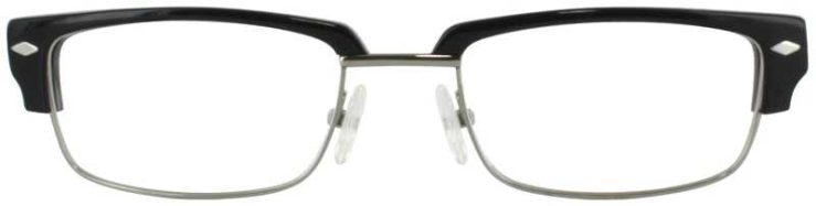 Prescription Glasses Model DC303-BLACK-FRONT