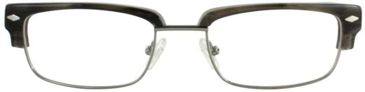 Prescription Glasses Model DC303-GREY-FRONT