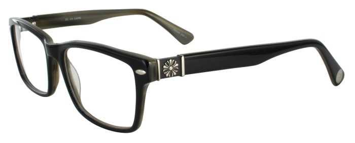 Prescription Glasses Model DC305-BLACK-45