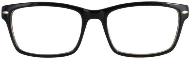 Prescription Glasses Model DC305-BLACK-FRONT