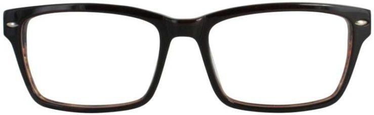 Prescription Glasses Model DC305-BROWN-FRONT