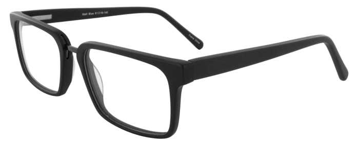 Prescription Glasses Model DC312-MATTBLACK-45