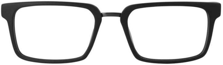 Prescription Glasses Model DC312-MATTBLACK-FRONT