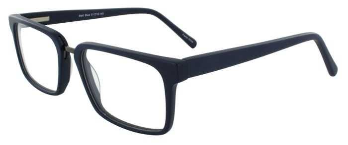 Prescription Glasses Model DC312-MATTBLUE-45