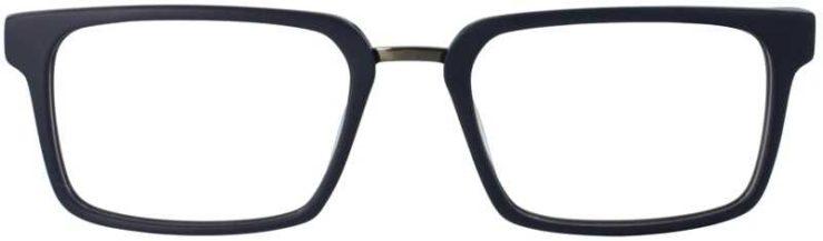 Prescription Glasses Model DC312-MATTBLUE-FRONT