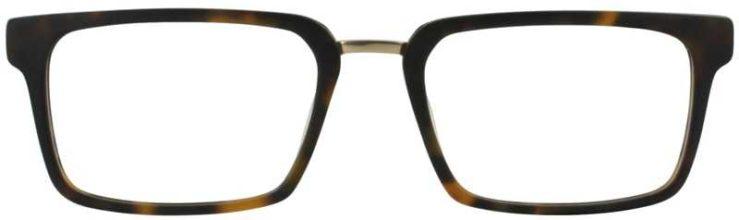 Prescription Glasses Model DC312-TORTOISE-FRONT