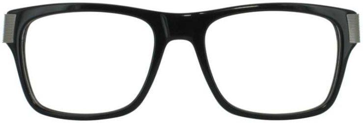 Prescription Glasses Model DC313-BLACK-FRONT