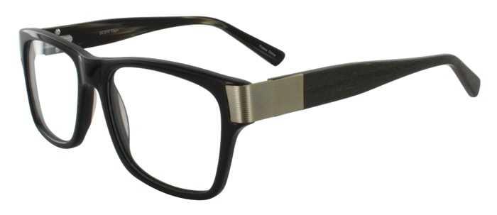 Prescription Glasses Model DC313-BROWN-45