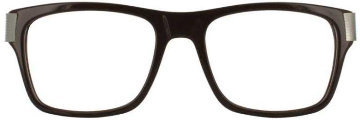 Prescription Glasses Model DC313-BROWN-FRONT