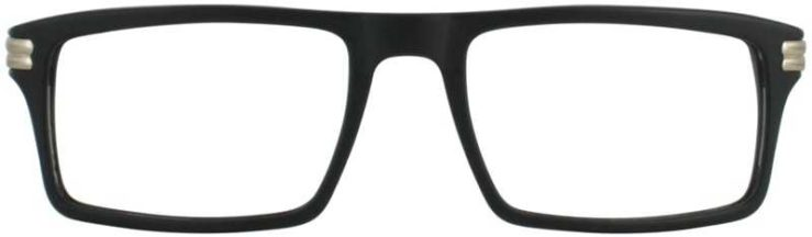 Prescription Glasses Model DC314-BLACK-FRONT