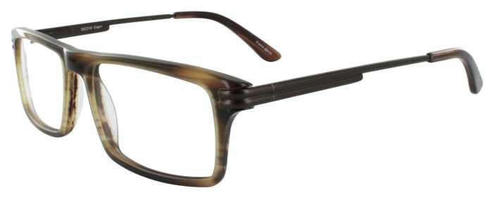 Prescription Glasses Model DC314-BROWN-45