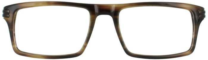 Prescription Glasses Model DC314-BROWN-FRONT