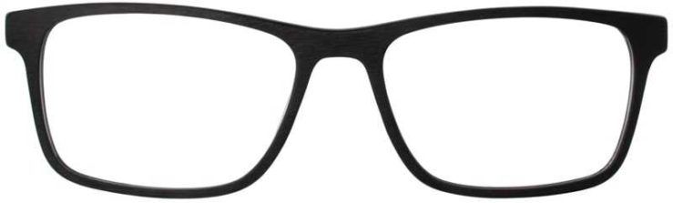 Prescription Glasses Model DC315-BLACK-FRONT