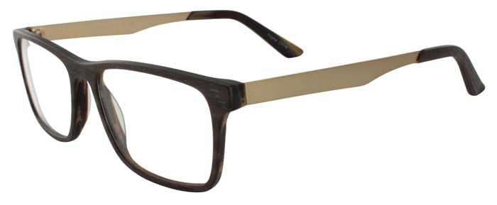 Prescription Glasses Model DC315-BROWN-45