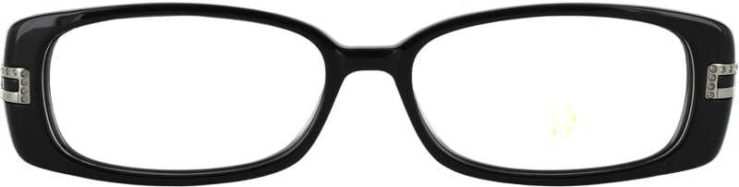 Prescription Glasses Model DC33-BLACK-FRONT
