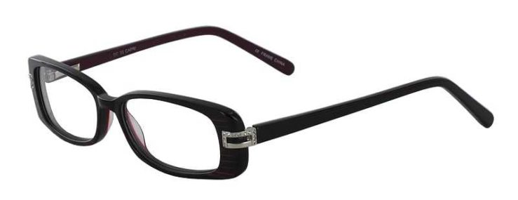 Prescription Glasses Model DC33-PURPLE-45