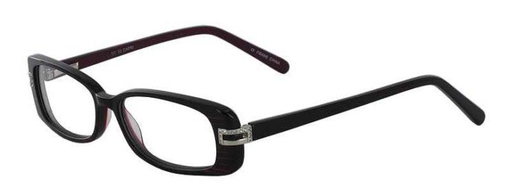 Prescription Glasses Model DC33-PURPLE-45