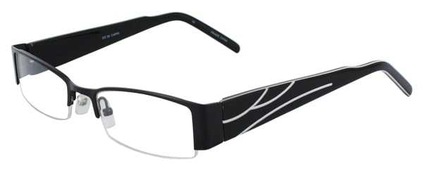 Prescription Glasses Model DC36-BLACK-45