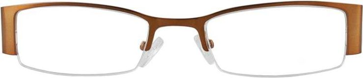 Prescription Glasses Model DC36-BROWN-FRONT