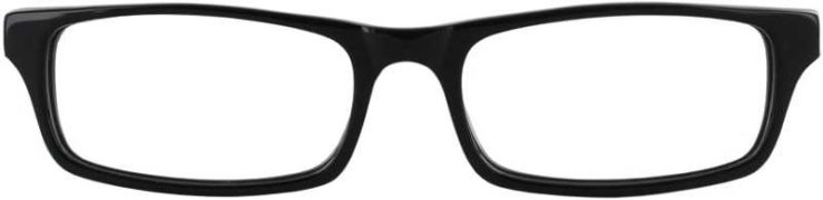 Prescription Glasses Model DC50-BLACK-FRONT