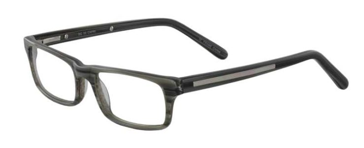 Prescription Glasses Model DC50-GREY-45