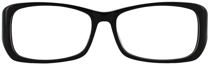 Prescription Glasses Model DC51-BLACK-FRONT