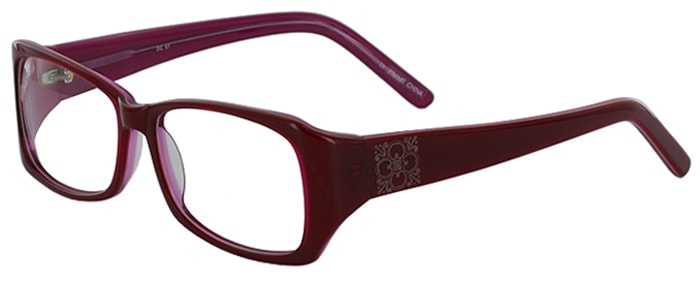 Prescription Glasses Model DC51-RED-45