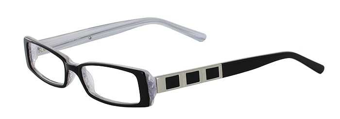 Prescription Glasses Model DC57-BLACK-45
