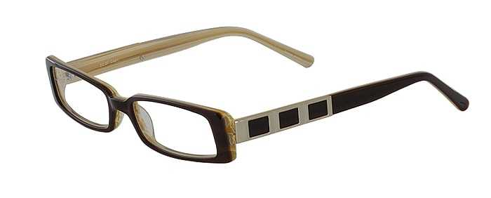 Prescription Glasses Model DC57-BROWN-45