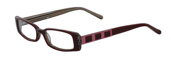 Prescription Glasses Model DC57-RED-45