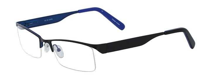 Prescription Glasses Model DC60-BLACK-45