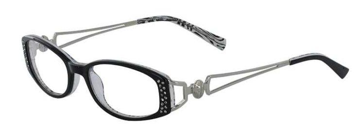 Prescription Glasses Model DC64-BLACK-45