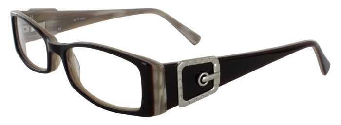 Prescription Glasses Model DC71-BROWN-45