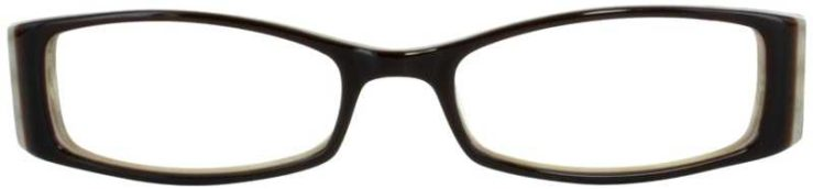 Prescription Glasses Model DC71-BROWN-FRONT